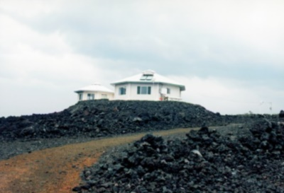 Vacation Rental in the middle of a lava field