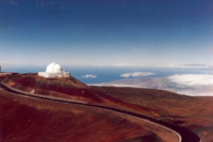 Mauna Kea in the stars